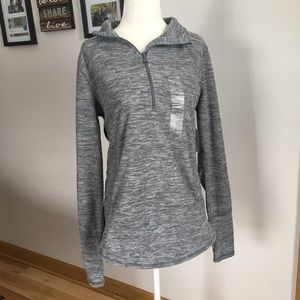 NWT St. John's Bay Active Quarter Zip Pullover